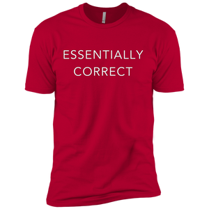 ESSENTIALLY CORRECT Premium Short Sleeve T-Shirt - Spgetti