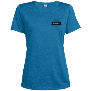 Hsing-I Ladies' Heather Dri-Fit Moisture-Wicking T-Shirt