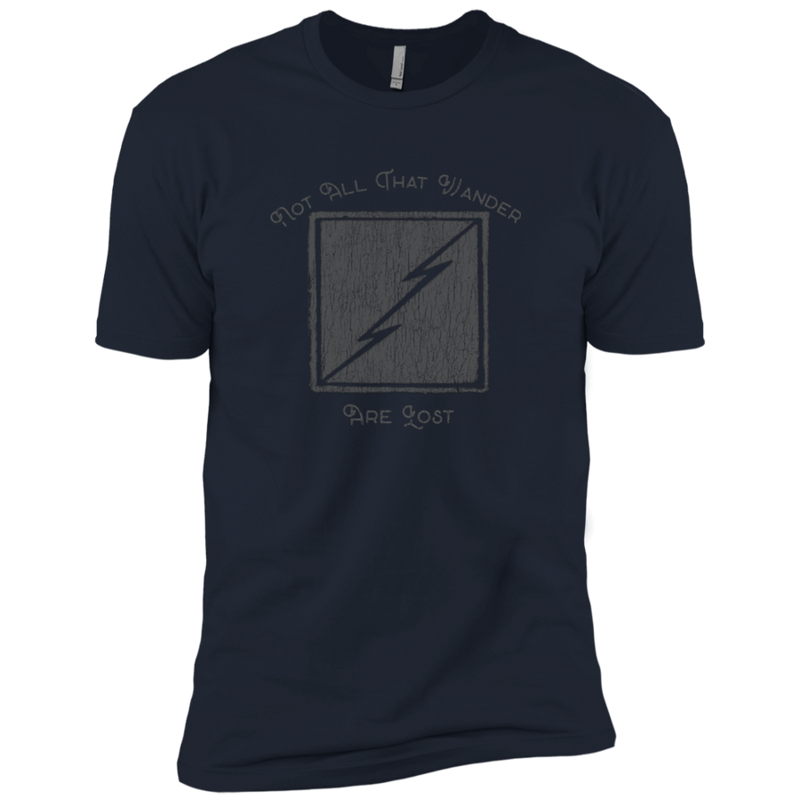 Not All Who Wander Are Lost Premium Short Sleeve T-Shirt - Spgetti