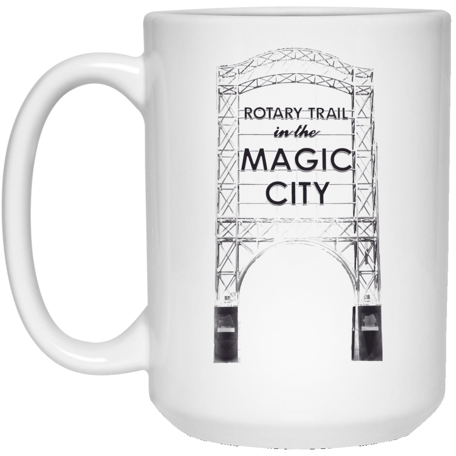Magic City 15 oz. White Mug