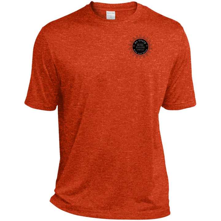 Da Chang Heather Dri-Fit Moisture-Wicking T-Shirt - Spgetti