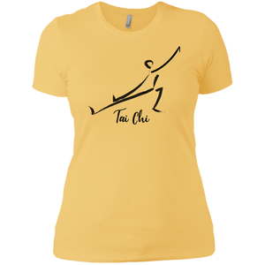 Banana Cream Tai Chi Tai Chi Ladies' Boyfriend T-Shirt