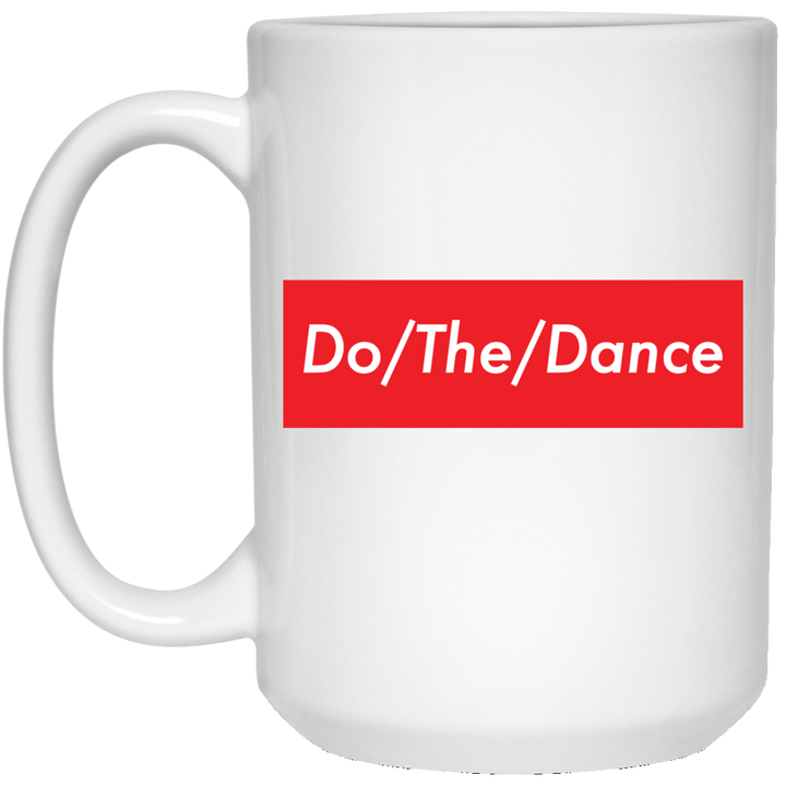Do/The/Dance 15 oz. White Mug - Spgetti