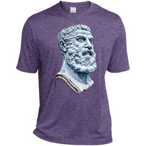 Purple Heather Vulcan Heather Dri-Fit Moisture-Wicking T-Shirt