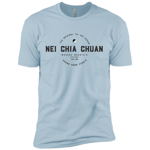 Light Blue Vintage Tai Chi Premium Short Sleeve T-Shirt