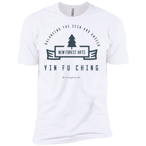 White Vintage Yin Fu Ching Premium Short Sleeve T-Shirt