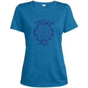 Kindness is My Religion Dri-Fit Moisture-Wicking T-Shirt - Spgetti