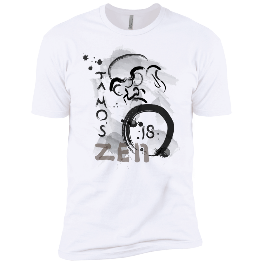 White Ta Mo's (Bodhidarma)18 Zen t-shirt  Dri-Fit Moisture-Wicking T-Shirt