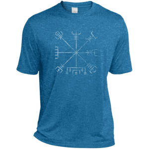 Vegvisir Heather Dri-Fit Moisture-Wicking T-Shirt - Spgetti