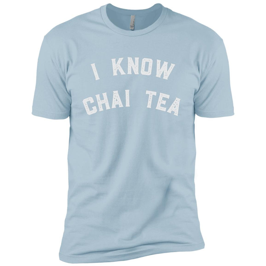 I Know Chai Tea Next Level Premium Short Sleeve T-Shirt - Spgetti
