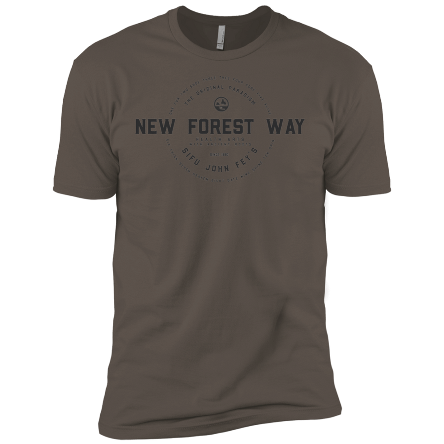 Warm Grey Vintage New Forest Way Premium Short Sleeve T-Shirt