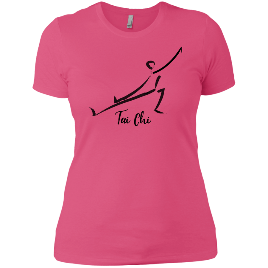 Hot Pink Tai Chi Tai Chi Ladies' Boyfriend T-Shirt