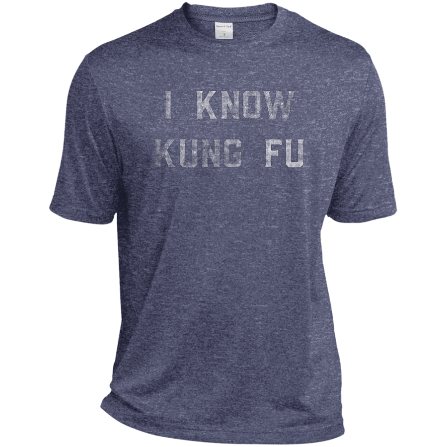 I Know Kung Fu Dri-Fit Moisture-Wicking T-Shirt - Spgetti