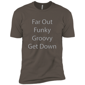 Far Out Funky Premium Short Sleeve T-Shirt - Spgetti