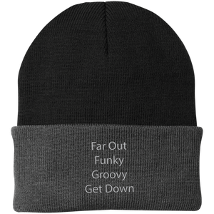 Far Out Funky Knit Cap - Spgetti