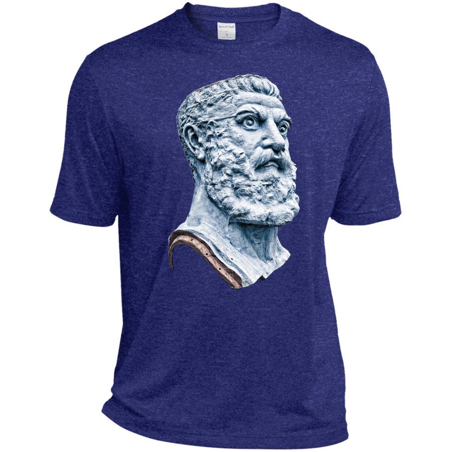 Cobalt Heather Vulcan Dri-Fit Moisture-Wicking T-Shirt