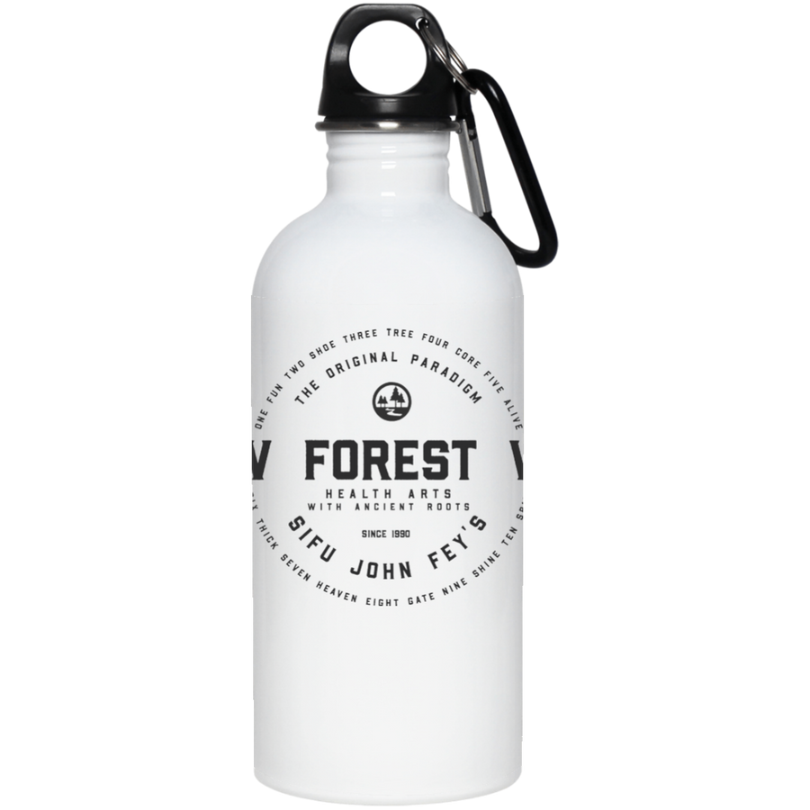 Vintage New Forest Way 20 oz. Stainless Steel Water Bottle - Spgetti