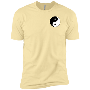 Banana Cream Yin Yang Men's Premium Short Sleeve T-Shirt