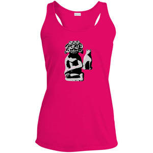 Water Goddess and Cat Ladies Racerback Moisture Wicking Tank