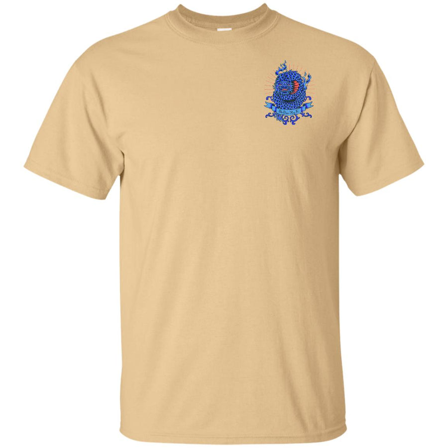 Blue Dragon Kung Fu Pocket  Ultra Cotton T-Shirt - Spgetti
