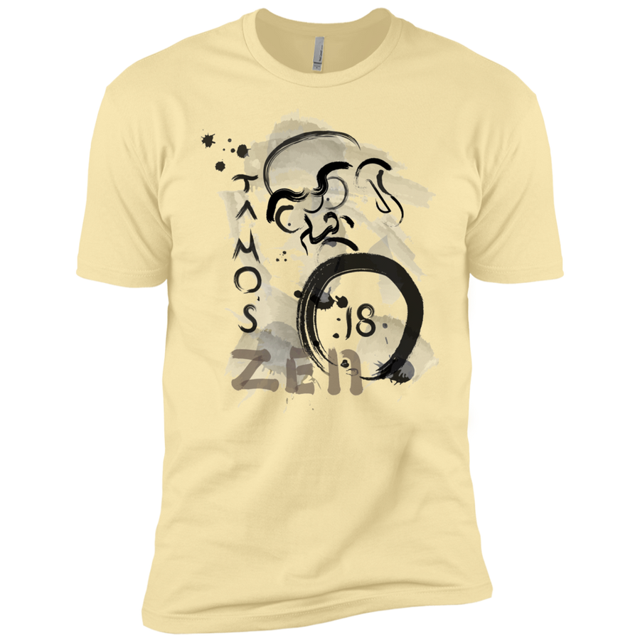 Banana Cream Ta Mo's (Bodhidarma)18 Zen t-shirt  Dri-Fit Moisture-Wicking T-Shirt