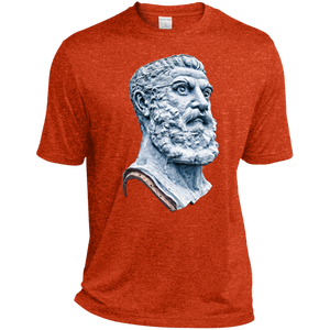Deep Orange Vulcan Heather Dri-Fit Moisture-Wicking T-Shirt