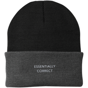 ESSENTIALLY CORRECT Knit Cap - Spgetti