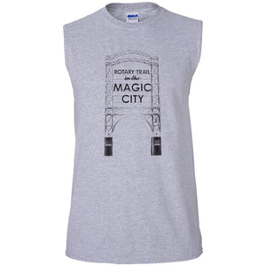 Magic City Men's Ultra Cotton Sleeveless T-Shirt