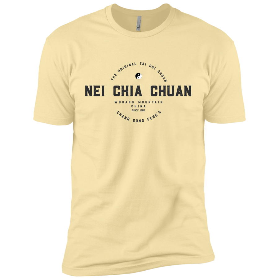Banana Cream Vintage Tai Chi Premium Short Sleeve T-Shirt