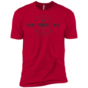 Red Vintage New Forest Way Premium Short Sleeve T-Shirt