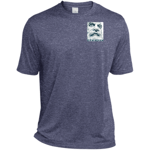 Big Vulcan w Birmingham Heather Dri-Fit Moisture-Wicking T-Shirt - Spgetti