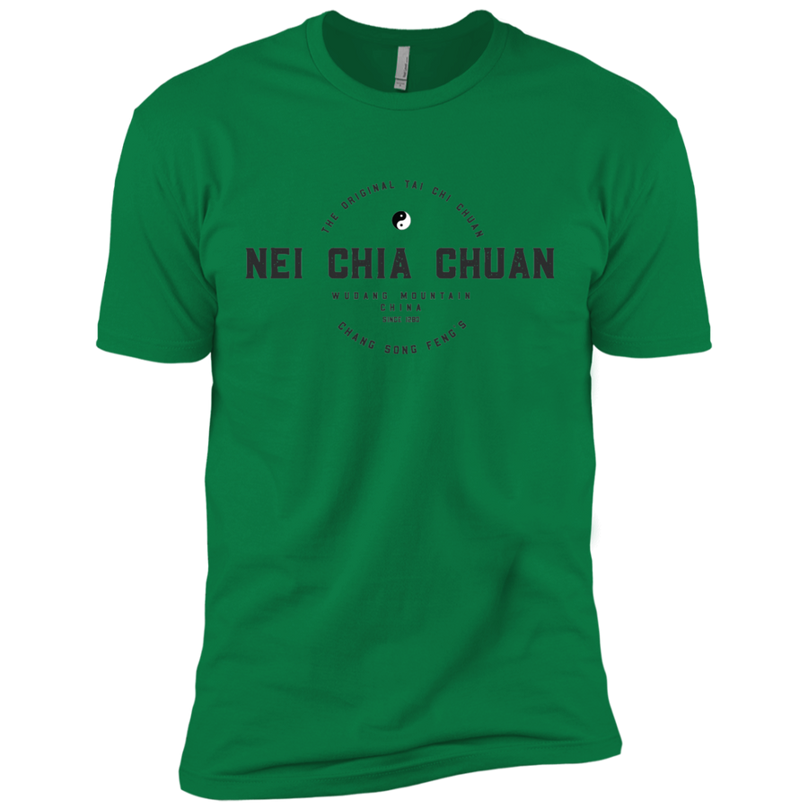 Kelly Green Vintage Tai Chi Premium Short Sleeve T-Shirt