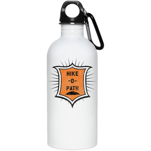 HIke O Path 20 oz. Stainless Steel Water Bottle - Spgetti