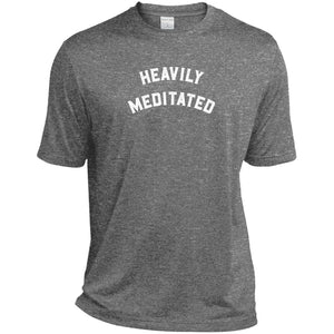 Heavily Meditated Heather Dri-Fit Moisture-Wicking T-Shirt - Spgetti
