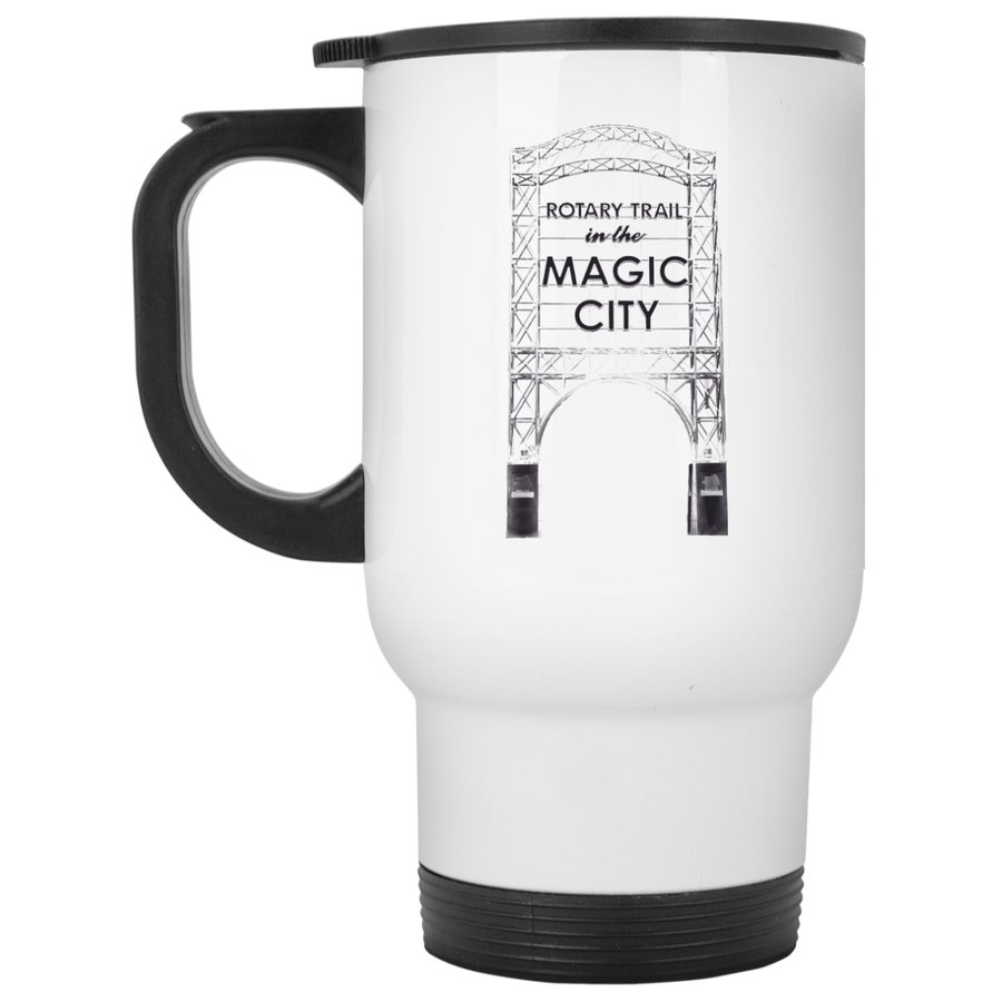 Magic City White Travel Mug - Spgetti