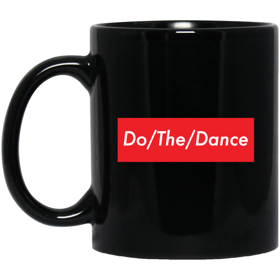 Do/The/Dance 11 oz. Black Mug - Spgetti