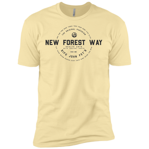 Banana Cream Vintage New Forest Way Premium Short Sleeve T-Shirt