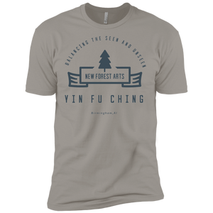 Light Grey Vintage Yin Fu Ching Premium Short Sleeve T-Shirt