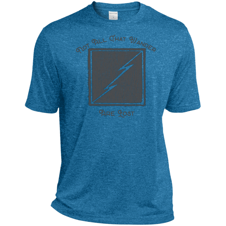 Not All Who Wander Are Lost Dri-Fit Moisture-Wicking T-Shirt - Spgetti