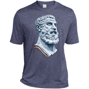 True Navy Vulcan Heather Dri-Fit Moisture-Wicking T-Shirt