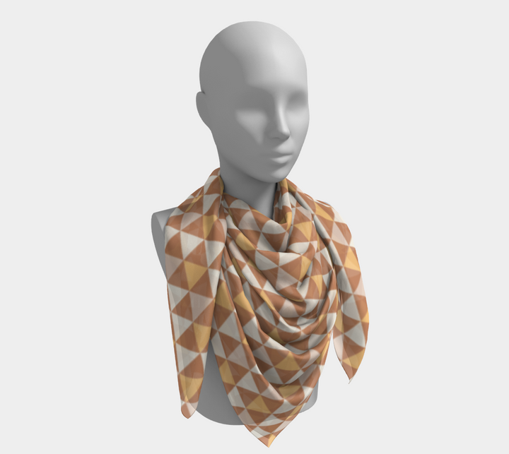 Tan Triangle Scarf