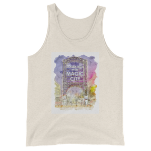 Magic City Rotary Trail Unisex  Tank Top - Spgetti