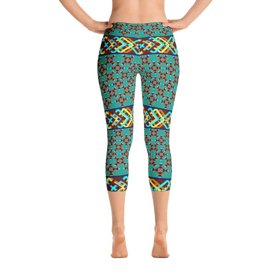 Southwest Design Capri Leggings