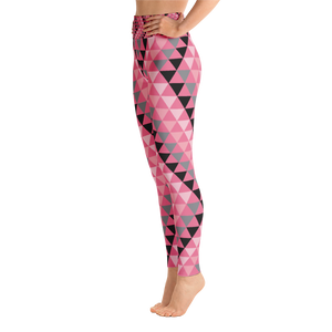Pink Triangle Yoga Leggings