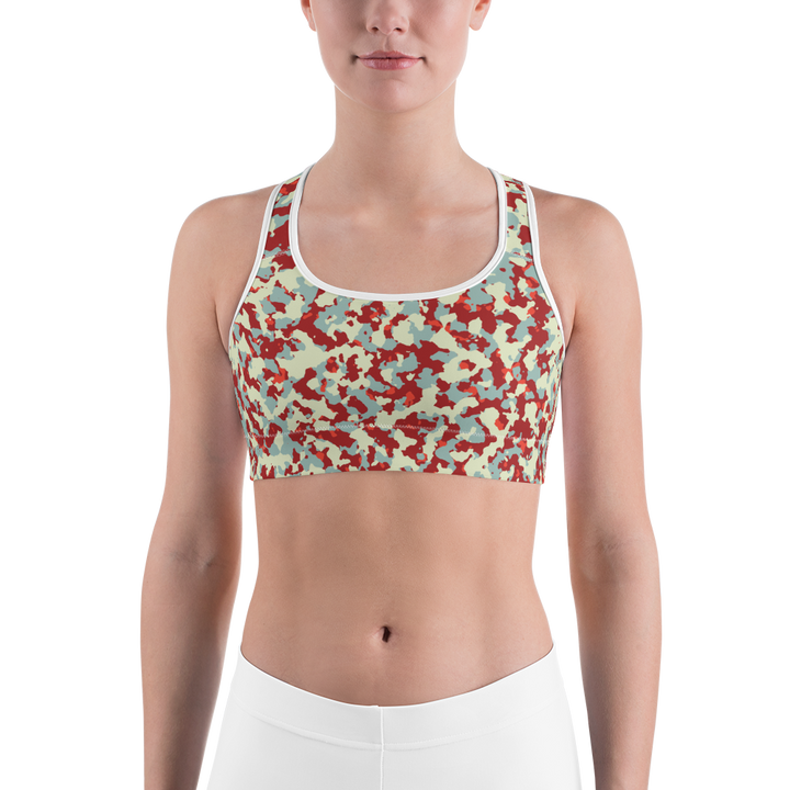 City Camo Sports bra - Spgetti