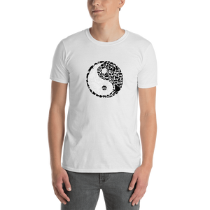 Yin Yang Cats Short-Sleeve Unisex T-Shirt