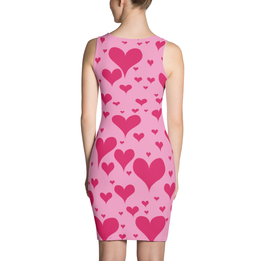 Pink Hearts Dress