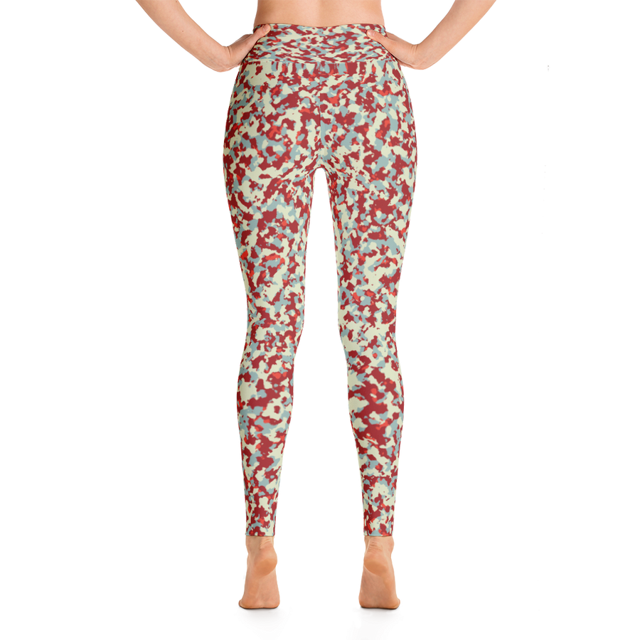 City Camo Yoga Leggings - Spgetti