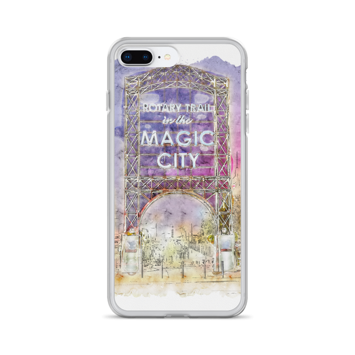 Magic City Rotary Trail iPhone Case - Spgetti