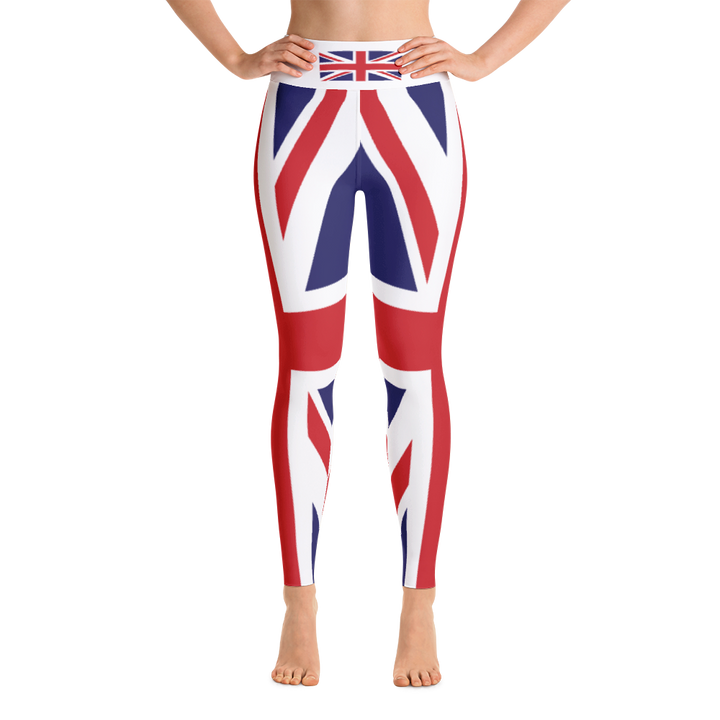 Union Jack Yoga Leggings